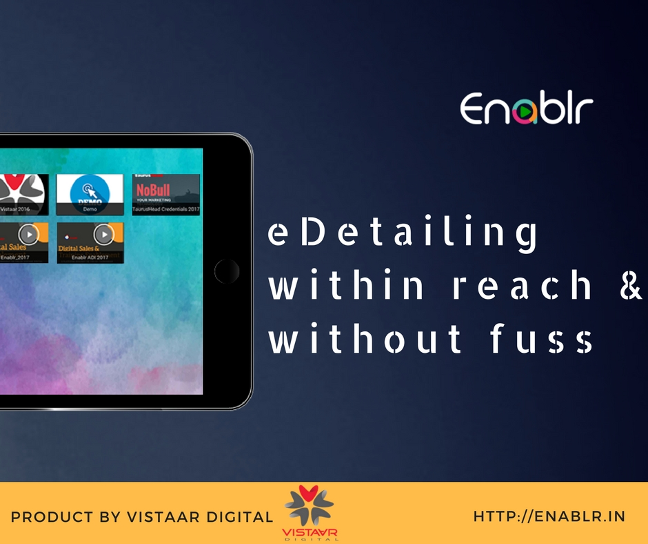 eDetailing within reach & without fuss